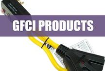 GFCI Products / GFCI stand for Ground Fault Circuit Interrupter. These products are essential for many outdoor businesses that are held to OSHA standards. Our GFCI products are tested and exceed OSHA requirements.