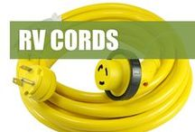 RV Camp Power Cords / A huge selection of RV extension cords and power cords from our Camp Power line. Everything from 15 - 50Amps are available.