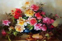 Telas de flores / by Denise Grz