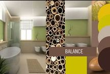 Interior Colours / A collection of interiors and colour palettes to inspire the home decorator.