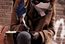 Brown coat (& outfit)