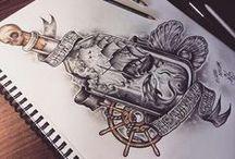 Drawing's / art,desenhos,geek