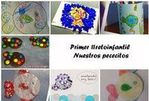 #Retoinfantil manualidadesconmishijas / Blogs cuyas manualidades infantiles participan en el #retoinfantil