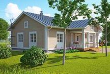 House ideas • Talosuunnittelua / blueprints, house models etc. pohjapiirroksia, talomalleja jne.