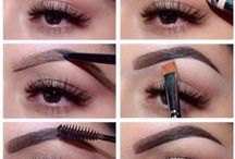 Makeup - Sobrancelhas - eyebrows - Augenbrauen