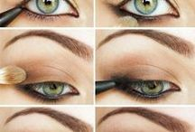 Makeup - olhos - Eyes makeup - Make-up Augen