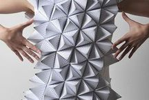 Geometry in Fashion / Geometry turns up, often unexpectedly, in apparel and accessory design