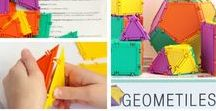Geometry Lesson Plans / Geometry Lesson Plans for grades 1-8 aligned to the Common Core Math standards using Geometiles
