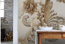 Wall Art - Paint, stickers, sculpting, trim