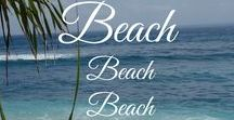 Beach, Beach, Beach / Ich liebe Strände, das türkis blaue Meer, den feinen Sand unter den Füßen, Palmen und Schildkröten. #Strand #Beach