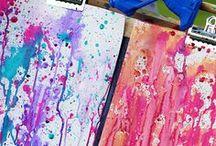DIY Kunst / DIY Art / Do it yourself art. Kunst zum selbst machen. Anleitungen für Kunst zum selbst gestalten. #kunst #art #DIY #doityourself #creative #kreativ