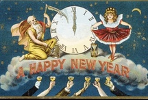 New Year Postcards / by For The Love Of Postcards