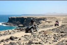 Bahiazul Experience - XQuad / Fun and impressive safaris on quad and dune buggy, through volcanoes, lava fields, deserts, lagoons and white sand dunes.