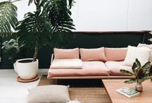 s p a c e s / combination of minimalist & warm spaces i could live in
