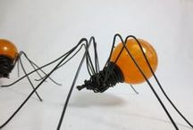 Halloween -  spiders / by Katherine Earley