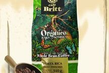 Café Britt / 100% Arabica & selected whole beans of Gourmet Coffee from Costa Rica, Cocoa, Cookies & More!  Please, contact us or visit our Online-Shop for your order! products@artisticoworld.com www.artisticoworld.com/aw-products-shop (Online-Shop)