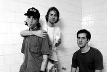 Nirvana ♬ / Dave + Krist + Kurt + a little bit of Pat = The Best Band Ever.  / by Verity Webster