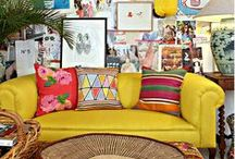Bohemian Inspiration / Ideas and tips how to decorate and furnish your home Bohemian Style