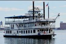 Music City Queen / New to the Boston Harbor, coming all the way from Nashville, TN. Great for dinner cruises, corporate events, private charters, group outings, sunset cruises, and more!