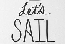 Nautical Quotes and Wisdom / Inspirational quotes to live by while soaking up the sun and sand!