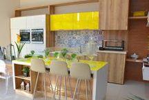 Ideias para cozinha / Ideias de projetos de móveis planejados para o ambiente mais gostoso da casa, a cozinha!
