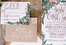 Stellar Stationary / Some of our favorites for wedding invitation suites and Save the Dates!