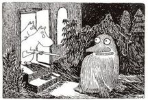 Tove Jansson illustrations