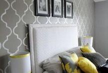 Deco paredes / El poder de la pintura y el papel pintada para cambiar cualquier estancia de tu casa