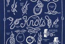 Sailing Knots / Learn how to tie sailing knots as well as discover terminology and illustrations!