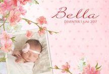 Geboortekaatjes | Zoete meisjes