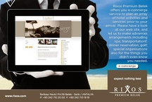 E_CONCIERGE / Thank you for choosing Rixos Premium Belek for your upcoming stay. We provide you a pre-arrival e-concierge service, to help create the ultimate, unique vacation experiences. Let our concierge make advances arrangements including dinner reservation, spa treatments, transportation, golf activities ; also for the things you didn't even know you needed to ensure make your stay even more enjoyable.  / by PREMIUM BELEK