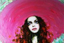 oil paint / Art, Oil paint  / by Didem Amanat Dülger