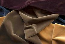 Adam Bray Textiles / Our Collection of Linen, Mohair Velvet and Stripes available from Tissus d'Helene