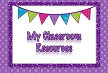 {My} Classroom Resources Board / Resources for the classroom.