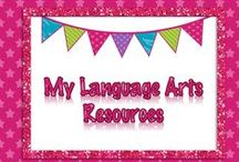 {My} Language Arts Resources / Lessons for Language Arts, Grammar, Spelling, Reading and Literature.