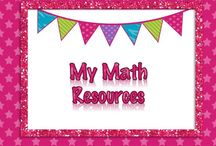 {My} Math Resources / Lessons for 3rd, 4th, 5th, 6th Grade Math, and Pre-Algebra, Algebra and Geometry.