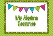 {My} Algebra Resources / Algebra Guided Notes, Projects, Activities, and Tasks.
