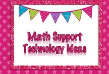 Math Support Ideas / Technology and iPad ideas for Math Support.
