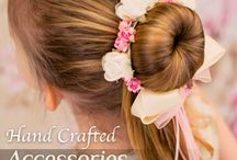 For your Flower Girl / This accessories are perfect for your flower girl.