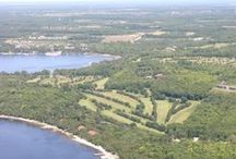 Alpine Golf Course Egg Harbor Door County / Amazing golf and bluff top views challenge you at this acclaimed Door County golf course. Alpine G.C. - Where the View is as Great as the Golf!