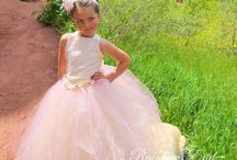 Couture Flower Girl Tutu Dresses / Gorgeous Couture tutu dresses to compliment any style wedding
