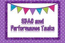SBAC Performance Task Prep Ideas / Ideas for performance tasks.