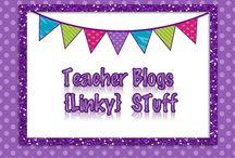 Blog {Linky} Stuff / Teacher Blog Linky Stuff