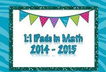 {My} 1:1 iPads in Math (2014 - 2015) / My 8th Grade Math Support lessons using 1:1 iPads in the 2014- 2015 School Year.