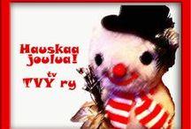 Joulukortteja 2014 Yule Cards / Joulukortteja 2014 Yule Cards. Valokuvajana Photographer Satu Ylävaara  Graafikko Graphic Designer Satu Ylävaara