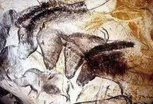 Chauvet Cave Paintings / The spectacular cave paintings of Chauvet Cave, Southern France :) enjoy