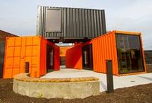 Architecture / Orange, Copper & Sustainable Architecture
