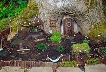Fairy gardens / Inspiration for creating magical fairy gardens and fairy furniture.