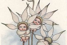 Flower fairies and gumnut babies / Flower fairies and gumnut babies by May Gibbs, Snugglepot and Cuddlepie, Cicely Mary Barker, Pixie O'Harris and others...