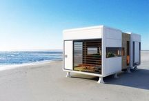 Amazing tiny spaces / Tiny houses , beautiful sheds , cool caravans and hidden hideaways.